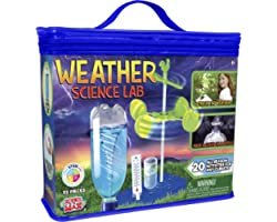Be Amazing! Toys Weather Science Lab - Kids Weather Science Kit with 20 All Season Science Projects - Educational STEM Scienc