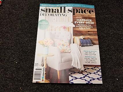 Amazon.com : BHG Small Space Decorating Magazine 2018 ...