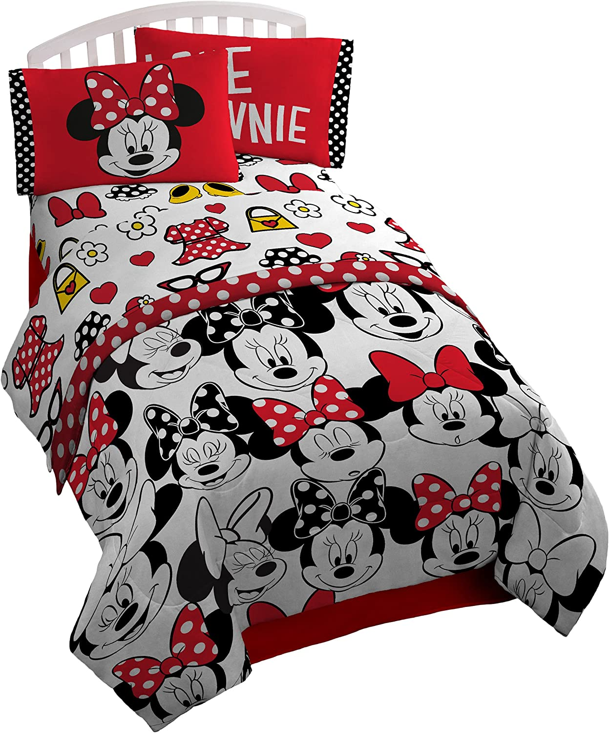 themed bedrooms for adults disney mickey mouse bedroom.htm amazon com disney minnie mouse all about dots microfiber  amazon com disney minnie mouse all