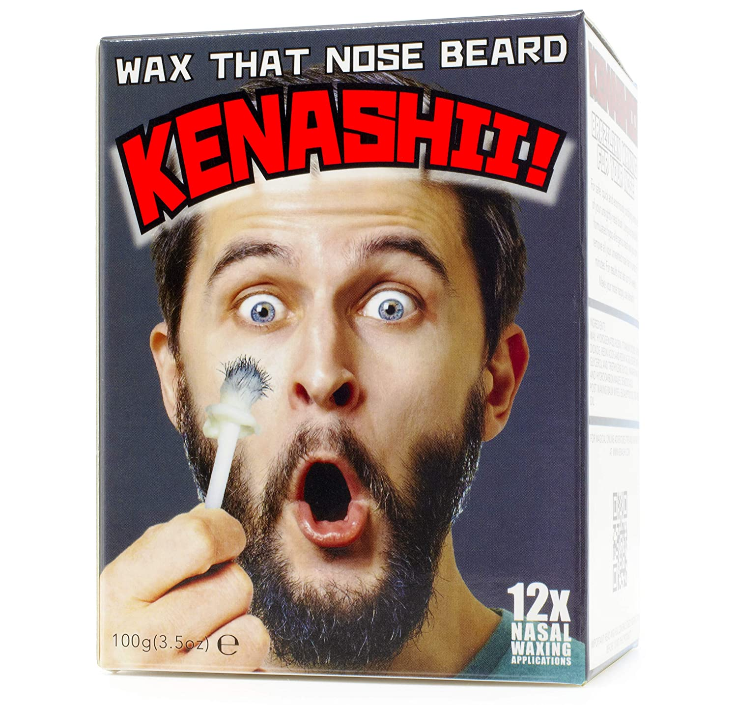 Nose Wax Kit, 100 g Wax, 24 Applicators. The Original & Best Nose Hair Removal Kit from Kenashii. Nose Waxing For Men & Women. 12 Applications, 12 Post Waxing Balm Wipes, 12 Mustache Guards.