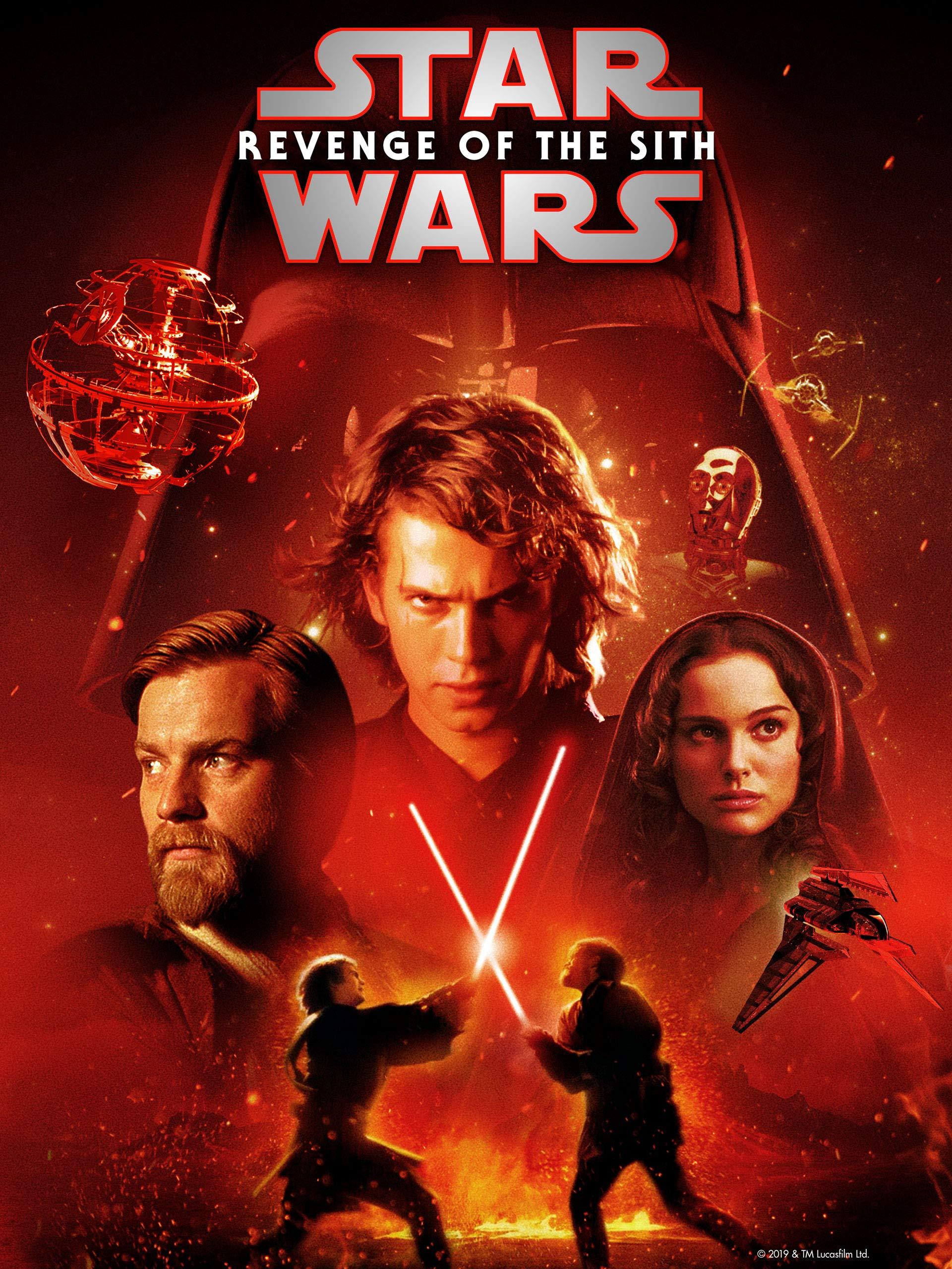 Amazon Com Star Wars Revenge Of The Sith Theatrical Version Ewan Mcgregor Natalie Portman Hayden Christensen Ian Mcdiarmid