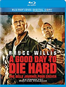 A Good Day to Die Hard [Blu-ray + DVD ] EXPIRED DIGITAL COPY