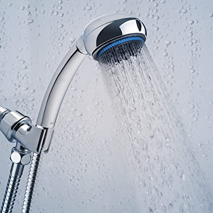 Hand Shower Head Handheld Shower High Pressure With Bracket And Hose For  Bathroom 8 Function