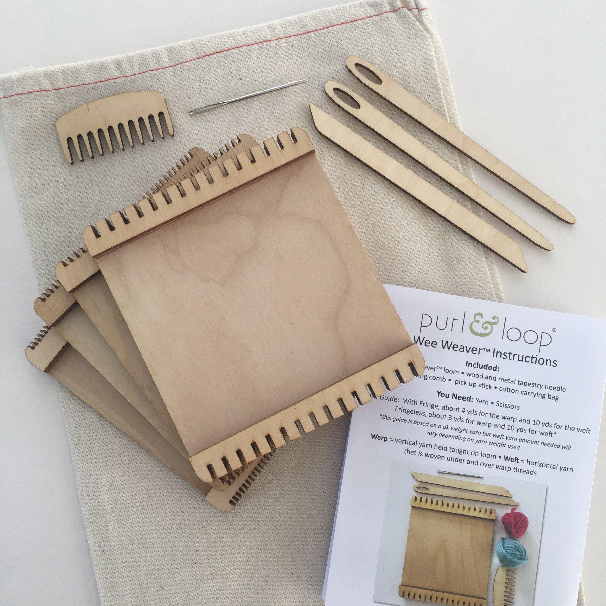 Purl & Loop Wee Weaver Loom (Set)