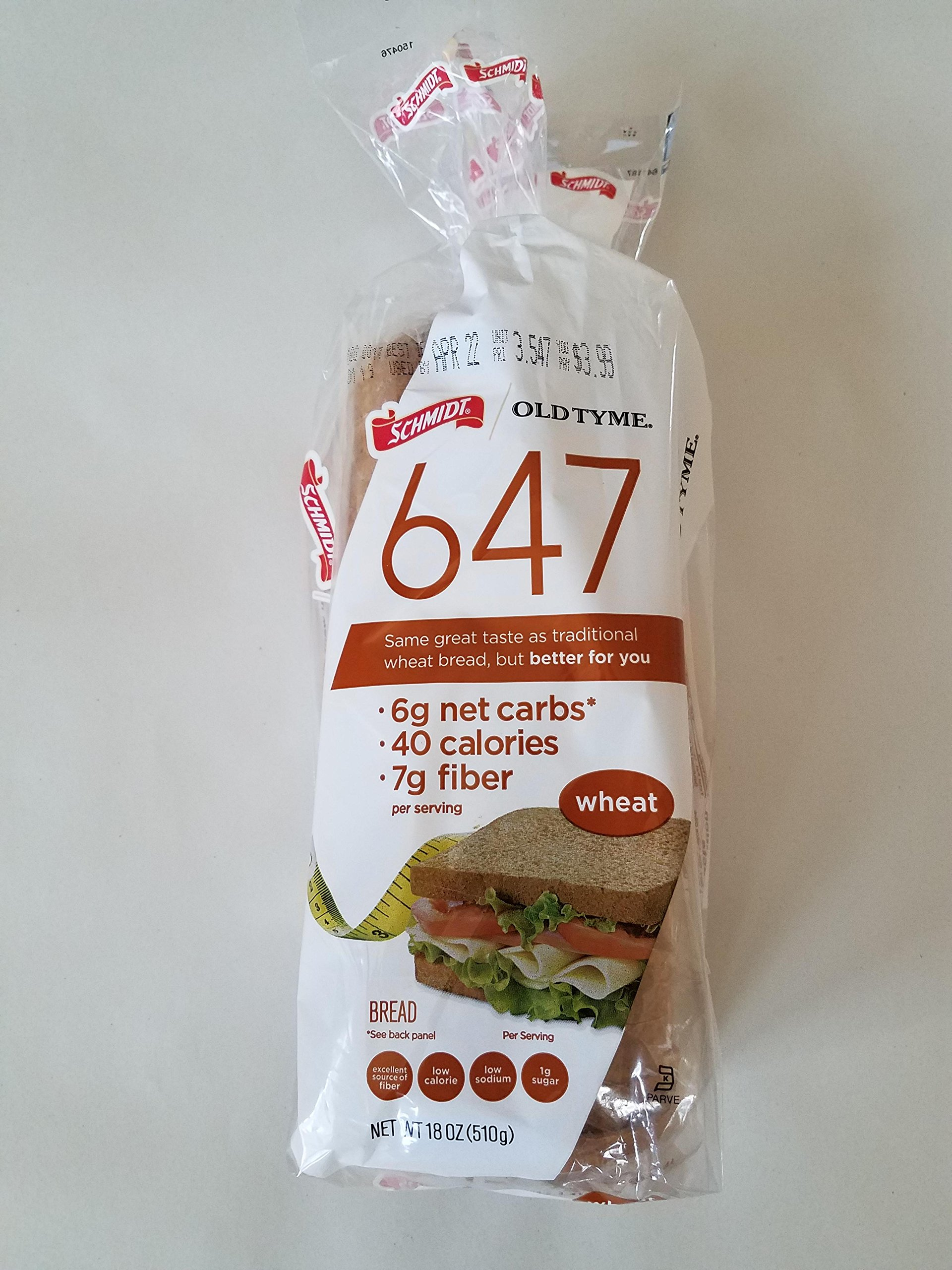 Schmidt Old Tyme 647 Bread - Whole Wheat: Amazon.com: Grocery & Gourmet Food