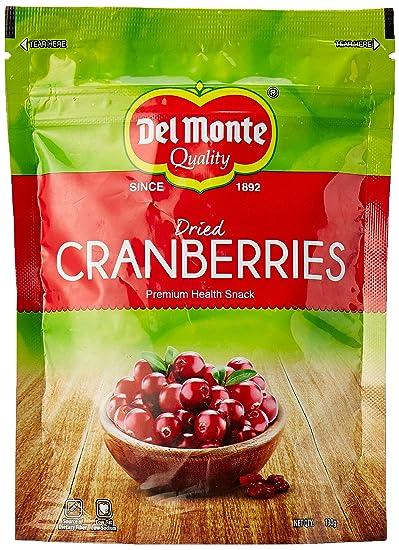 Del Monte Dried Cranberries, 130g