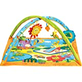 Tiny Love 33312017 Gymini Sunny Day- Sonnige Spiel- und Spaßdecke mit Spielbogen