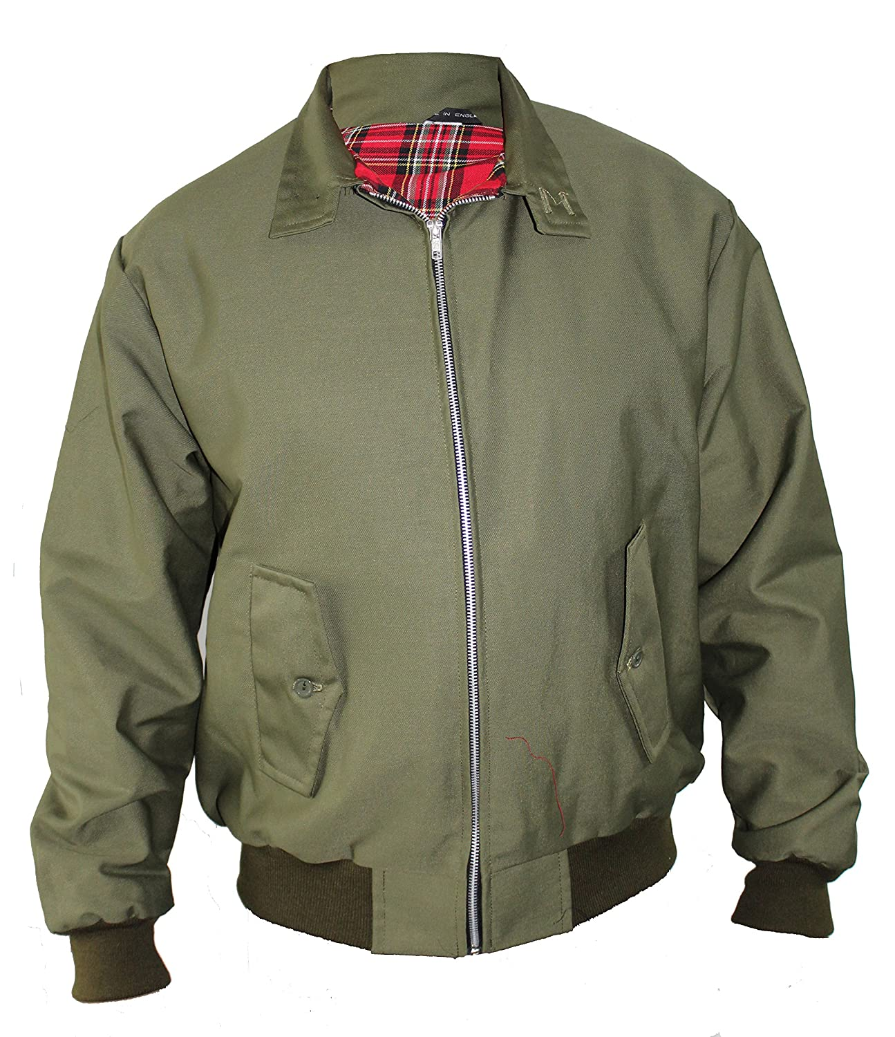 Harrington Jacket Classic/Retro/Mod/Scooter by SKYTEXUK, 10 colours, sizes XS - 8XL
