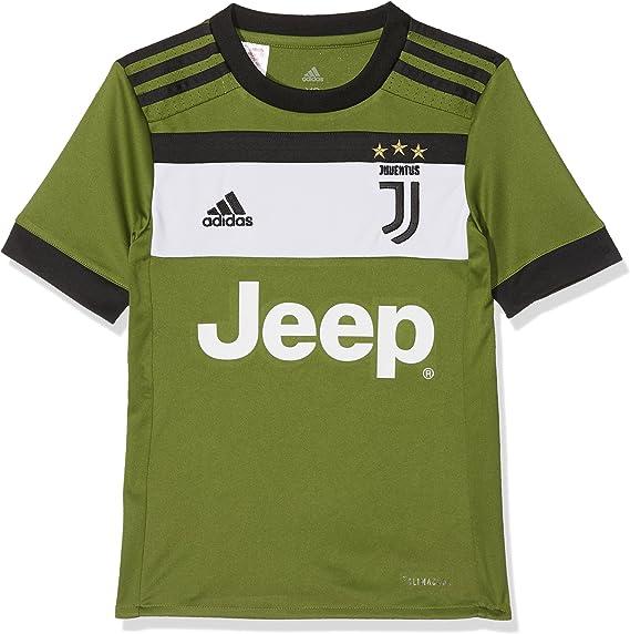 adidas Juve 3 JSY Y Camiseta 3ª Equipación Juventus 2017-2018, Niños: Amazon.es: Ropa y accesorios