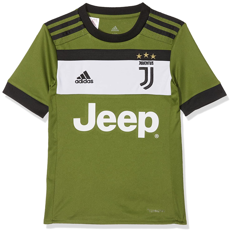 fc855461f03 Amazon.com: adidas 2017-2018 Juventus Third Shirt (Kids): Sports & Outdoors
