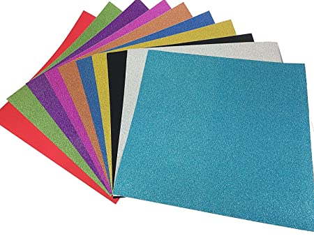 Misscrafts 10 Sheets Large 30cm X 30cm Self Adhesive Craftwork