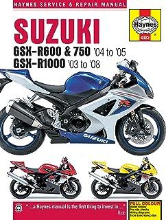 amazon com clymer repair manual for suzuki gsx r1000 gsxr 1000 05 rh amazon com 06 Gsxr 1000 Service Manual 04 Gsxr 1000 Grudge