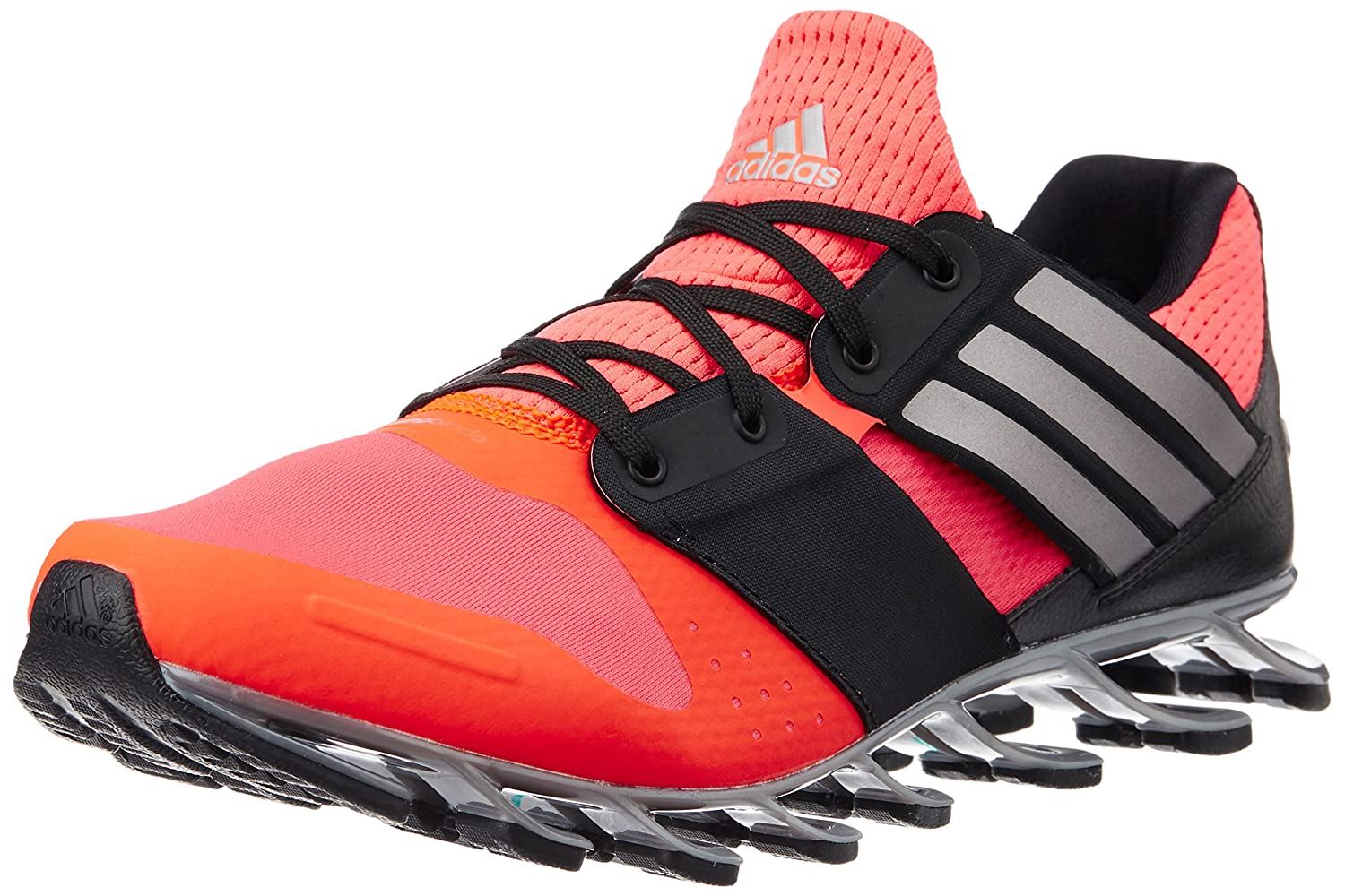 separation shoes e0ecc ddacc Adidas Men s Springblade Solyce Red, Silver and Black Mesh Running Shoes -  8 UK  Buy Online at Low Prices in India - Amazon.in