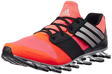 purchase cheap 11535 15d6c Adidas Men s Springblade Solyce Red, Silver and Black Mesh Running Shoes ...