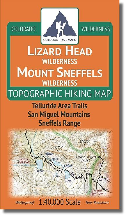 Amazon.com : Lizard Head - Mount Sneffels Wilderness ...