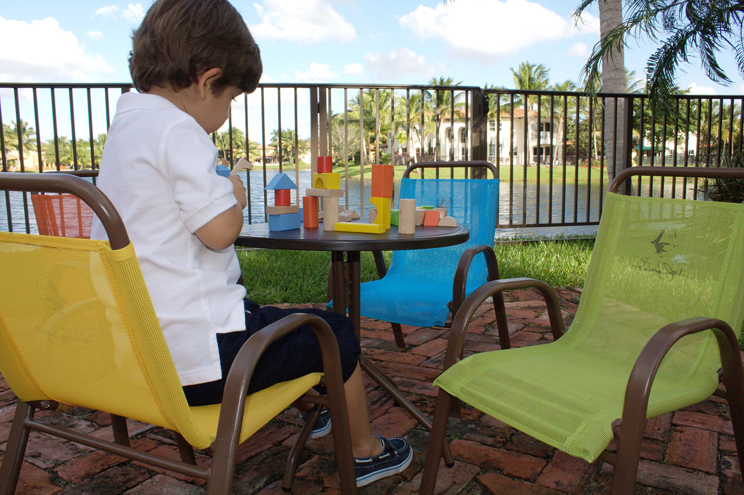 Panama Jack Kids 5-Piece Outdoor Dining Set, Multicolored by Panama Jack Kids (Image #9)