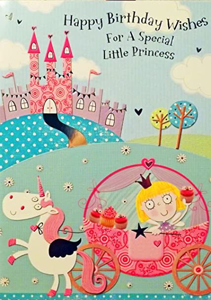 Girls Pink Green QuotHappy Birthday Wishes For A Special Little Princess Open
