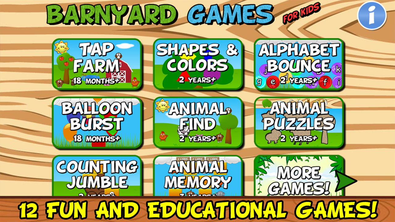 online learning for preschoolers for free barnyard for free appstore for android 200