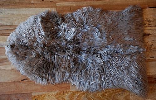 Yukon International Single Sheepskin Mocha