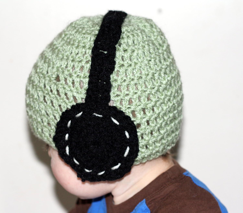 Crochet Earphone Hat