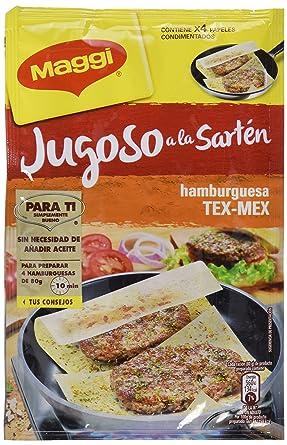 Maggi Jugoso a la Sartén Hamburguesa Texicana - Papel Condimentado - 25g