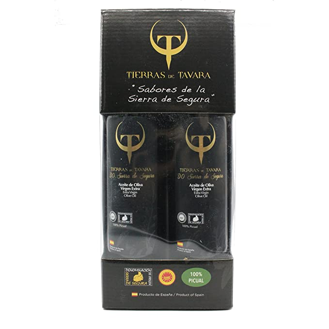 Tierras de Tavara estuche 2 bot vidrio x 500 ml (Aceite oliva virgen extra)