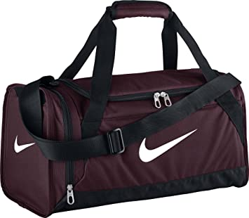 Nike Brasilia 6 X Small Sac de Sport Mixte, Night Maroon