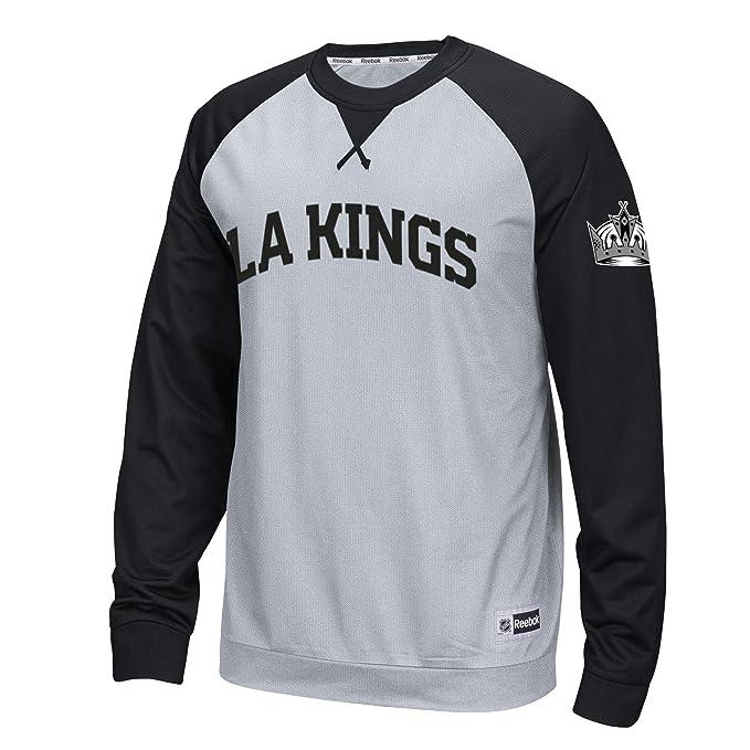 cd0f22fdc NHL Los Angeles Kings Men's Raglan Long Sleeve Crew Top, 2X-Large, ...