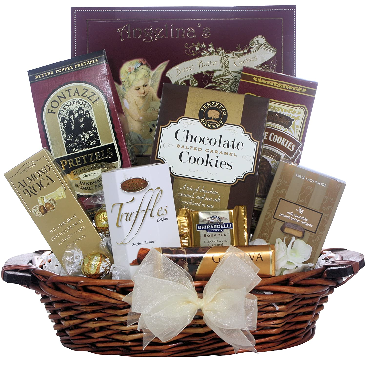 Amazon chocolate delights gourmet chocolate gift basket amazon chocolate delights gourmet chocolate gift basket gourmet baked goods gifts grocery gourmet food negle Gallery