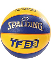 Spalding TF33 Official Game Ball out (83-735Z) Basketballs, Juventud Unisex,