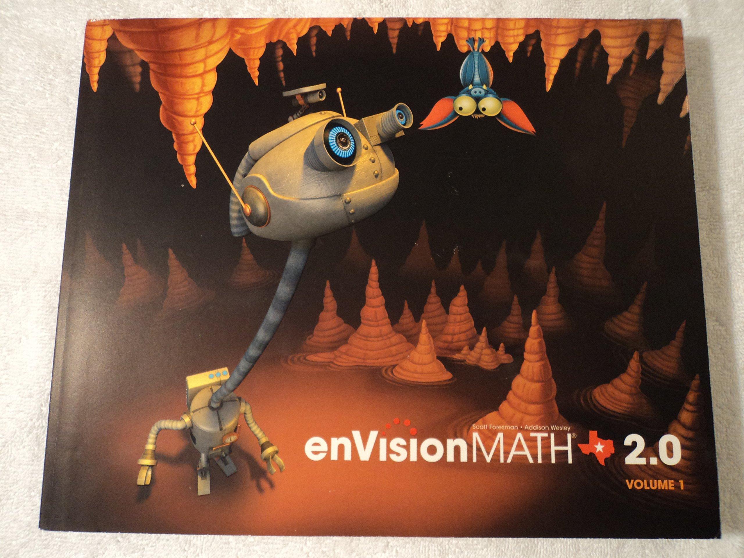 Pearson Texas, enVision MATH 2 0, Grade 2, Volume 1, Topics