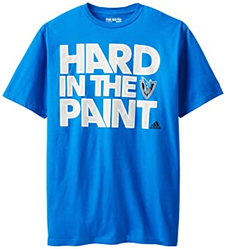 Adidas NBA Dallas Mavericks de Hombre Duro Camiseta de Manga Corta Pintura, Hombre, 3720A161DMAWCP7, Azul Claro, Large: Amazon.es: Deportes y aire libre