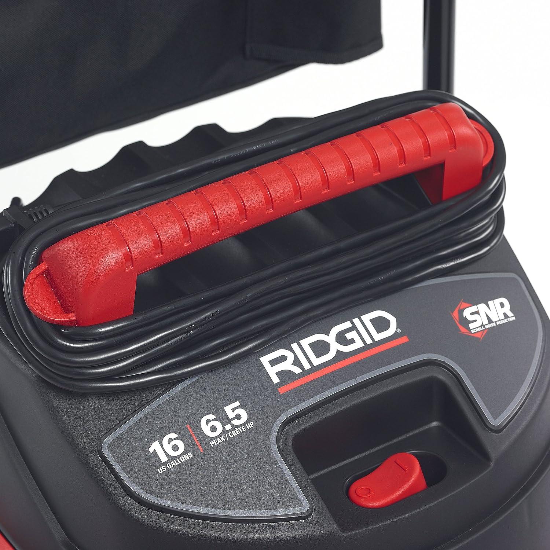 Red Ridgid 50353RID 1610RV Wet//Dry Vacuum Stainless Steel 16 gal