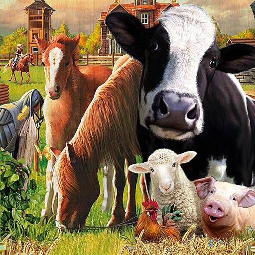 Farm World Mobile (Haflinger Horse Horses)