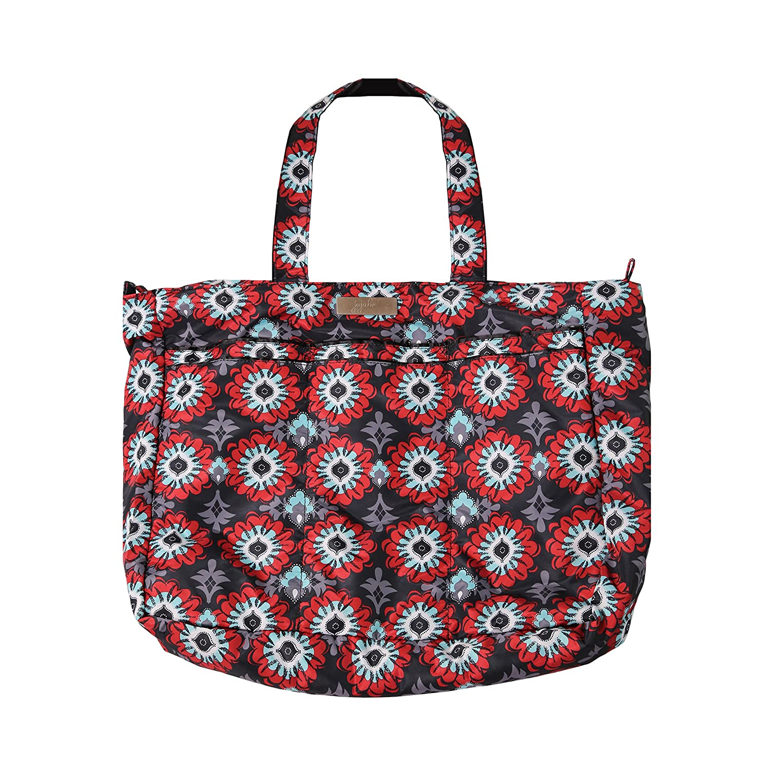 Ju-Ju-Be - Super Be - Zippered Tote Diaper Bag, Sweet Scarlet 12FF02A-SSC