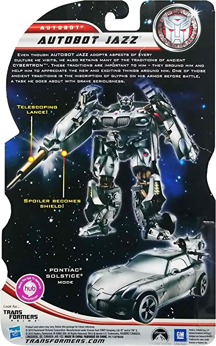 Transformers 3 Dark of The Moon Exclusive Deluxe Action Figure ...