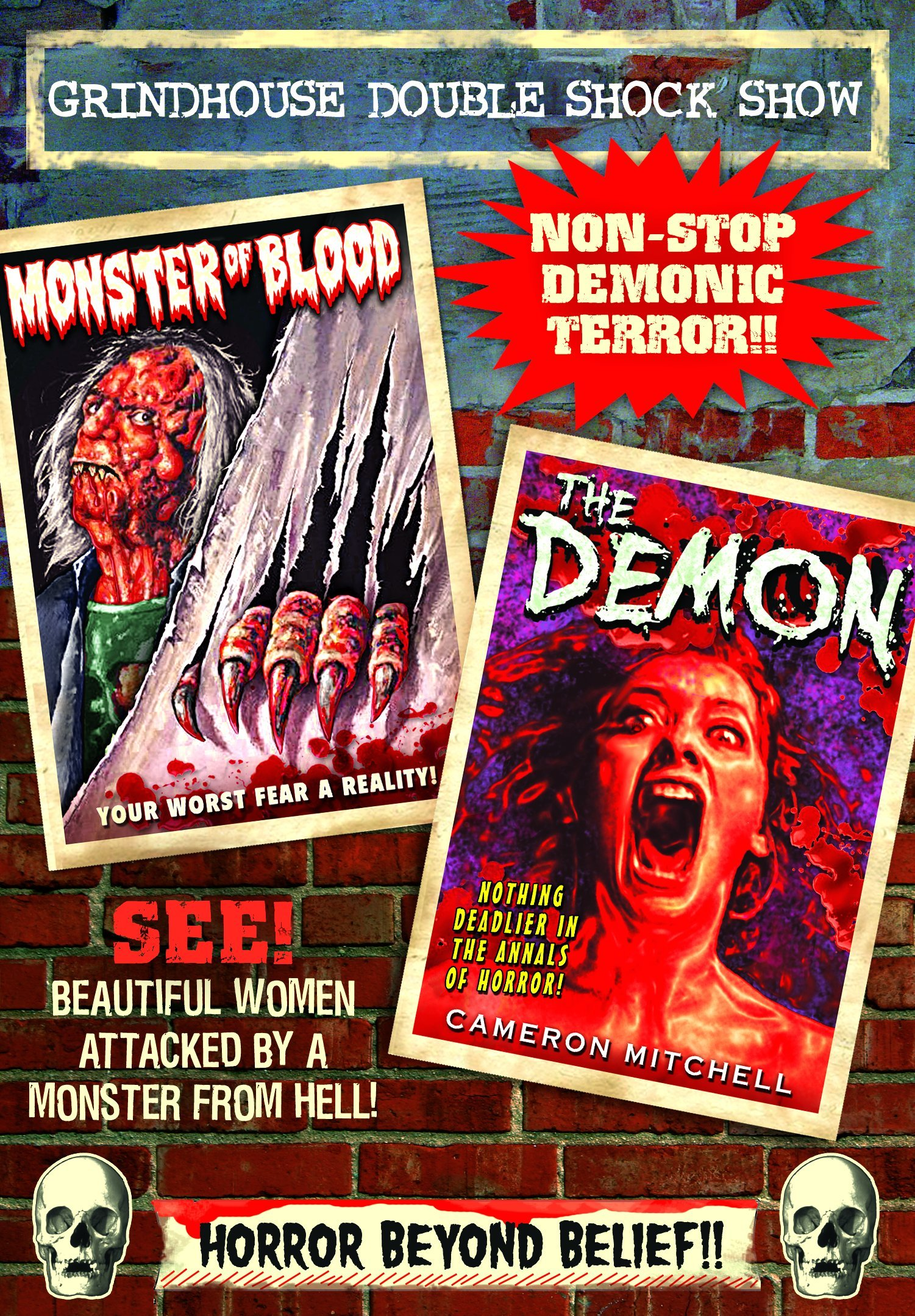 DVD : Demon (1981) / Monster of Blood (1982) (DVD)