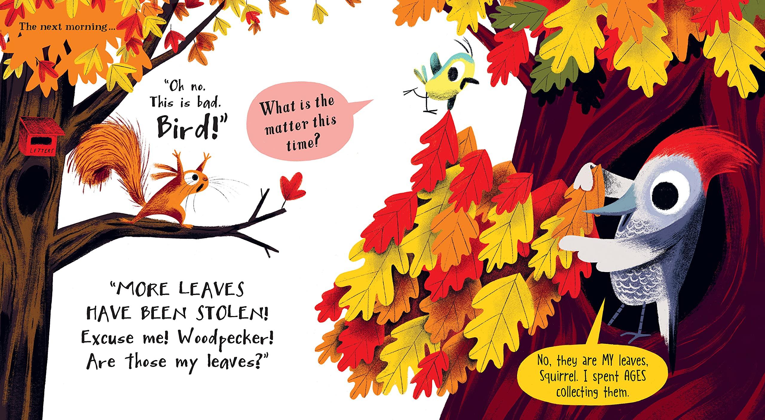 The Leaf Thief: Hemming, Alice, Slater, Nicola: 0760789305887: Amazon.com:  Books