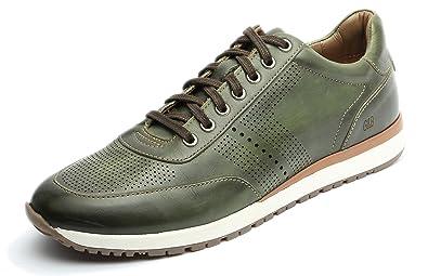 d818edc7c529 Gordon   Bros Herrenschuhe Conte S150210 Eleganter und hochwertiger Herren  Leder Sneaker, Schnürhalbschuh, Profilsohle