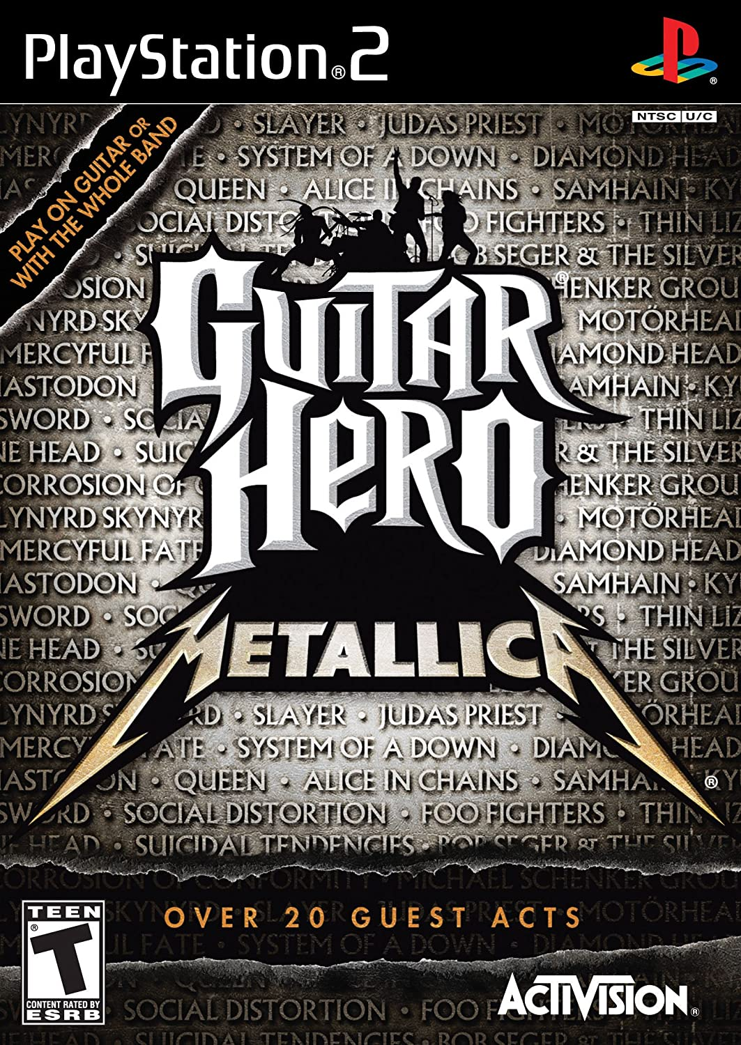 Activision Guitar Hero - Juego (PS2, PlayStation 2, Música, T (Teen)): Amazon.es: Videojuegos