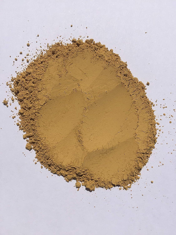 Grapewood colors Pigmento/tinte amarillo ocre pálido (1 libra) para hormigón, cerámica, pintura de casa, pintura de pared, modelizado, señalador, ...