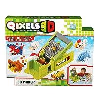 Qixels – 3D Maker – Kit Créatif de Figurines – 600 Cubes et Modèles