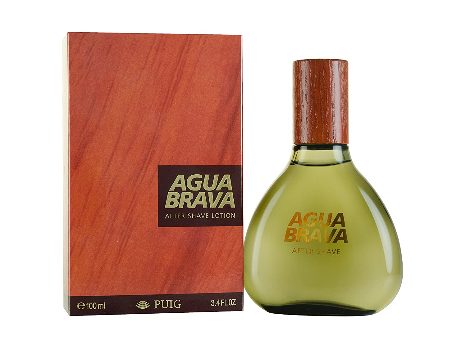 Puig After Shave Lotion Agua Brava for Men, 100 ml CADYSSA 116964