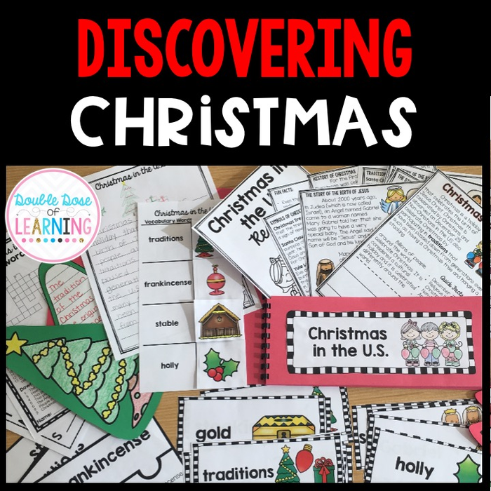 Discovering Christmas in the US {Research Unit with 2 PowerPoints} (Trees Christmas In Ri)
