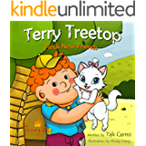 """Books for Kids : """"TERRY TREETOP FINDS NEW FRIENDS"""" (Animal Habitats, Funny, Values ebook, Goodnight & Sleep Book, Adventure & Education for kids, Beginner ... learning) (Children's Picture Book Book 1)"""