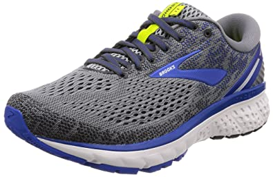 Brooks Men s Ghost 11 Grey Blue Silver 7 ... 91f21e856