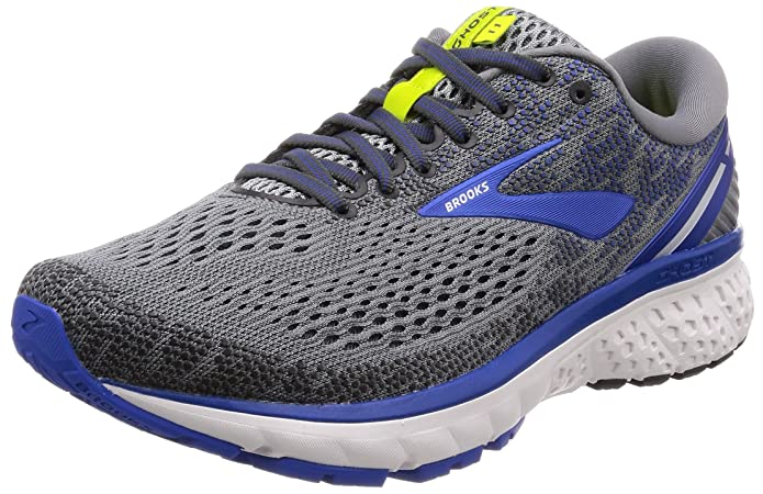 check out c835b df261 Amazon.com   Brooks Men s Ghost 11 Grey Blue Silver 9 EEEE US   Running