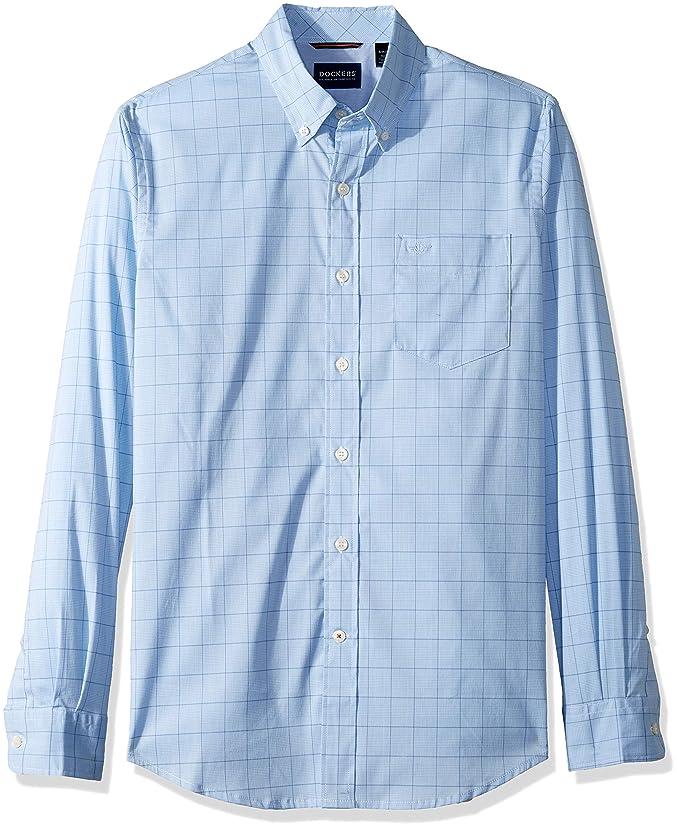 dockers Camisa con Cuello Abotonado para Hombre: Amazon.es: Ropa y ...