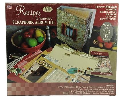 Amazon Scrapbook Album Kit Recipes To Remember