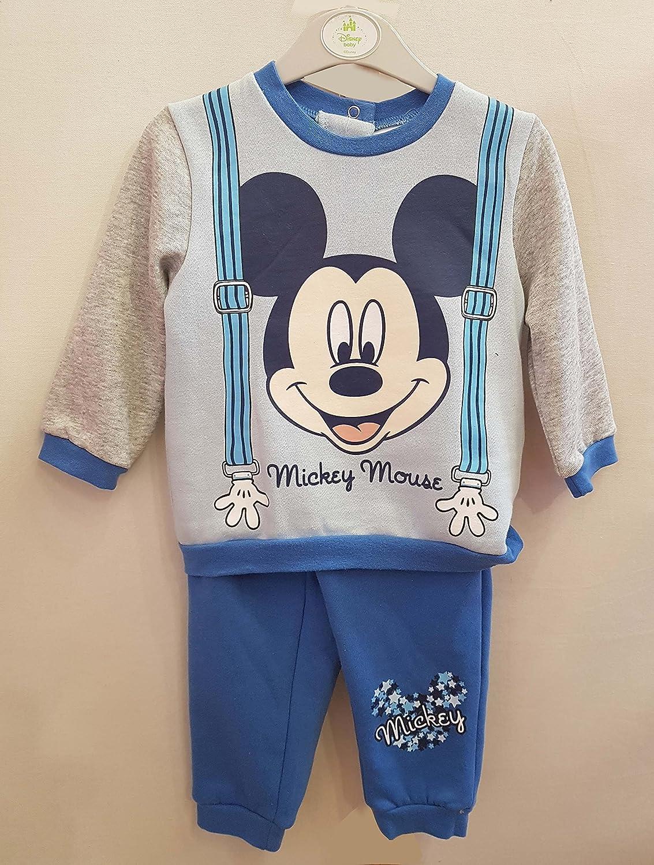 Chandal Mickey Disney Azul Infantil BABYE (18M): Amazon.es: Ropa y ...